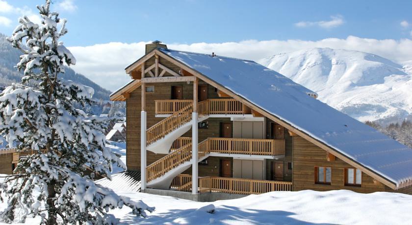 Vacaciones en montaña Résidence le Lièvre Blanc la Crête du Berger - La Joue du Loup - Invierno