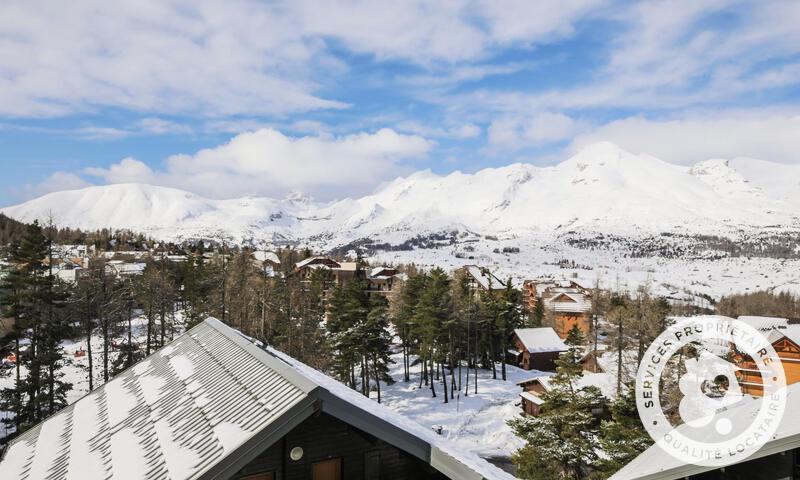 Wakacje w górach Apartament 2 pokojowy 4 osób (Confort 26m²) - Résidence les Chalets D'aurouze - Maeva Home - La Joue du Loup - Zima na zewnątrz