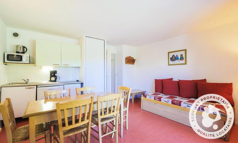 Wakacje w górach Apartament 2 pokojowy 6 osób (Confort 35m²) - Résidence les Chalets D'aurouze - Maeva Home - La Joue du Loup - Zima na zewnątrz