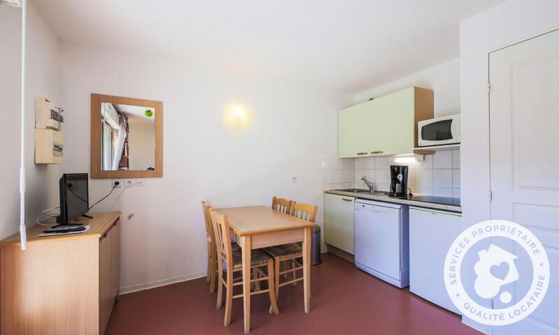 Wakacje w górach Apartament 2 pokojowy 4 osób (Confort 38m²) - Résidence les Chalets D'aurouze - Maeva Home - La Joue du Loup - Zima na zewnątrz