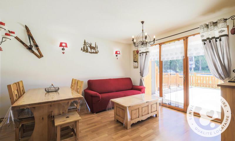 Vacances en montagne Appartement 2 pièces 6 personnes (Sélection 38m²) - Résidence les Chamois - Maeva Home - La Joue du Loup - Séjour