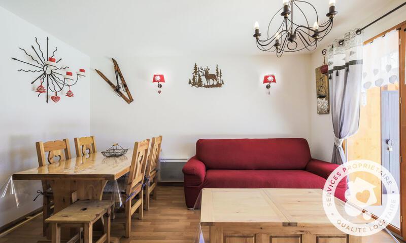 Vacances en montagne Appartement 2 pièces 6 personnes (Sélection 38m²) - Résidence les Chamois - Maeva Home - La Joue du Loup - Banquette