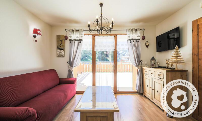 Vacances en montagne Appartement 2 pièces 6 personnes (Sélection 38m²) - Résidence les Chamois - Maeva Home - La Joue du Loup - Canapé