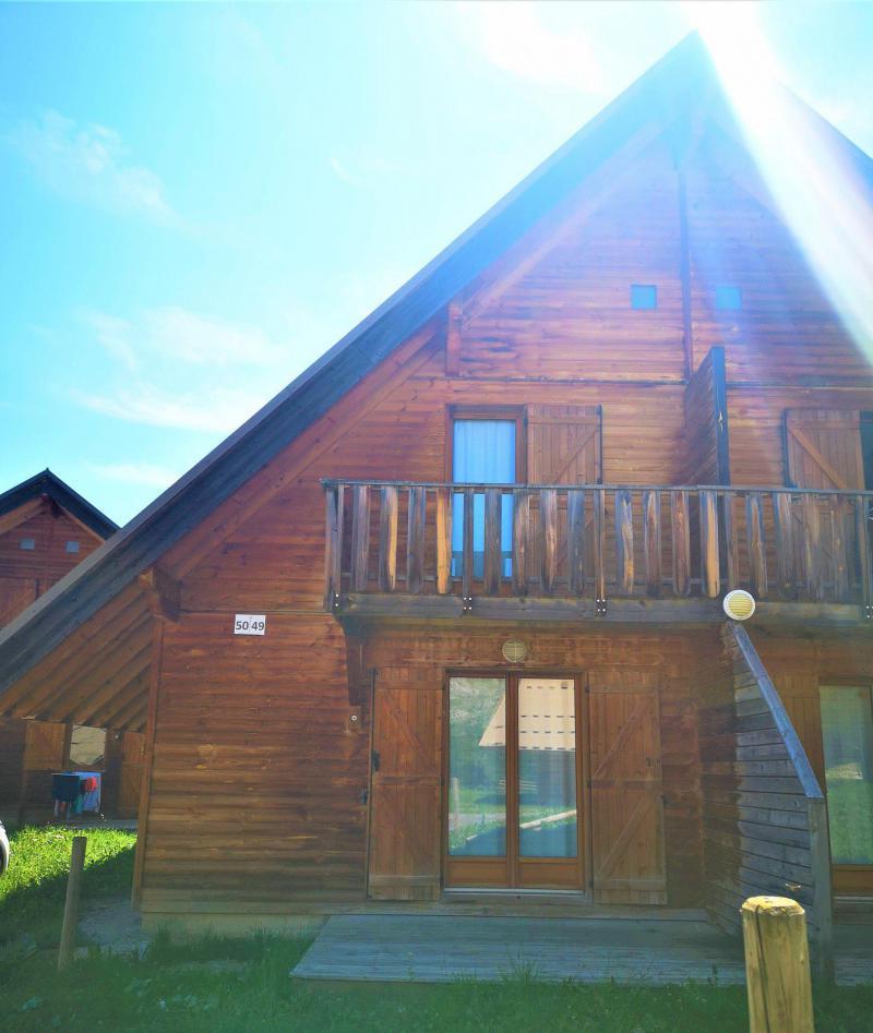Location au ski Chalet mitoyen 3 pièces 7 personnes (50) - Résidence Les Flocons du Soleil - La Joue du Loup