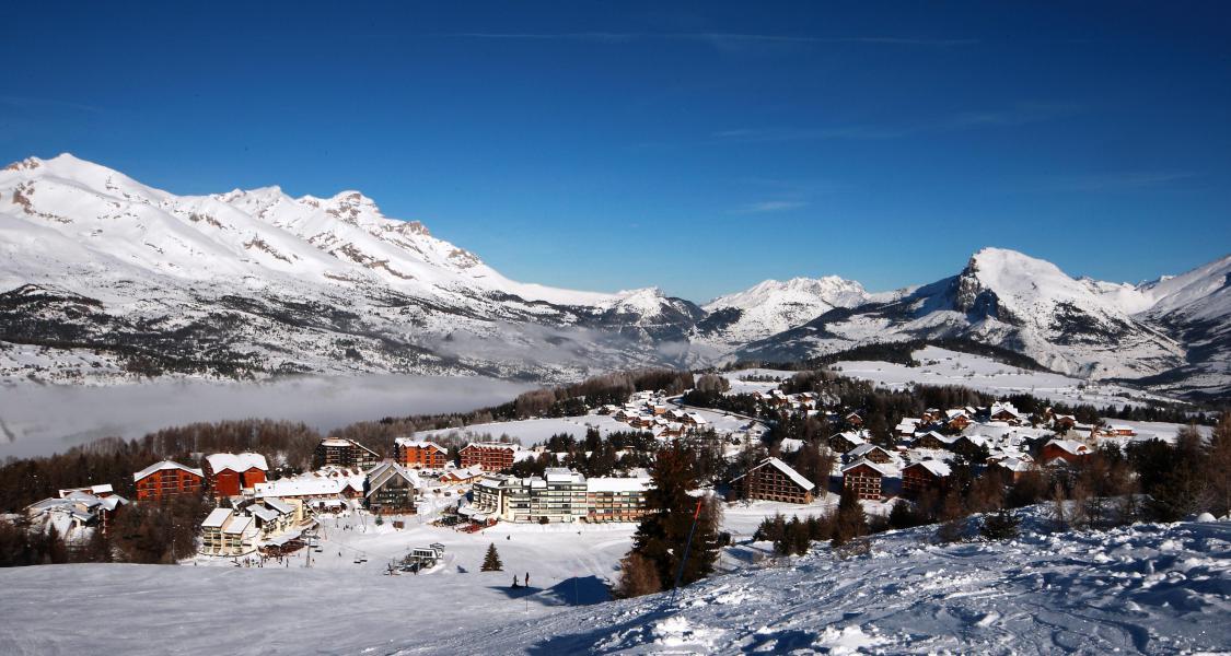 Skiverleih 2-Zimmer-Appartment für 4 Personen (C32) - Résidence les Mélèzes - La Joue du Loup - Draußen im Winter