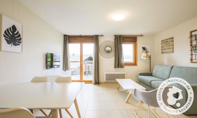Location au ski Studio 2 personnes (Sélection -2) - Résidence les Mélèzes - Maeva Home - La Joue du Loup - Extérieur hiver
