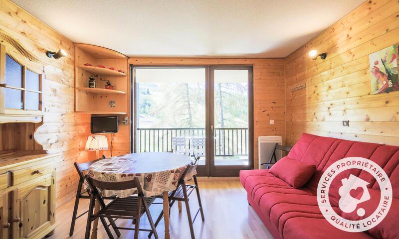 Vacances en montagne Studio 4 personnes (Confort 25m²-3) - Résidence les Trois Soleils - Maeva Home - La Joue du Loup - Séjour