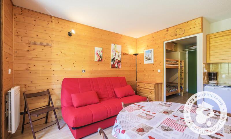 Vacances en montagne Studio 4 personnes (Confort 25m²-3) - Résidence les Trois Soleils - Maeva Home - La Joue du Loup - Banquette