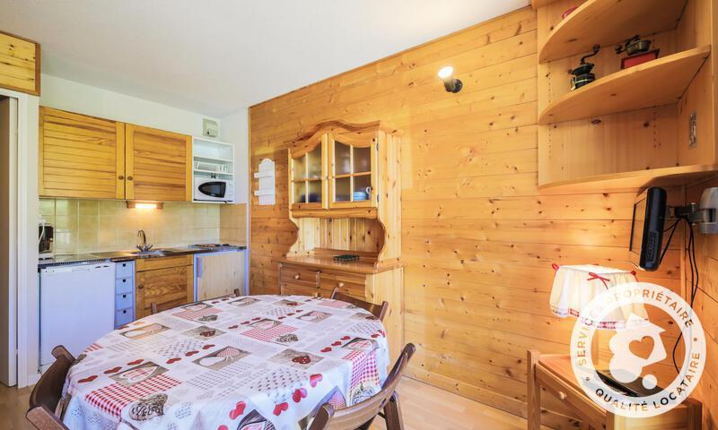 Vacances en montagne Studio 4 personnes (Confort 25m²-3) - Résidence les Trois Soleils - Maeva Home - La Joue du Loup - Table