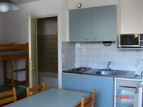 Location au ski Appartement 2 pièces 4 personnes - Residences Seclym - La Joue du Loup - Coin repas