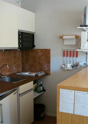 Location au ski Studio 4 personnes - Residences Seclym - La Joue du Loup - Kitchenette