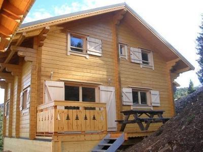 Location au ski Chalets Hameau Des Cimes - La Joue du Loup - Extérieur hiver