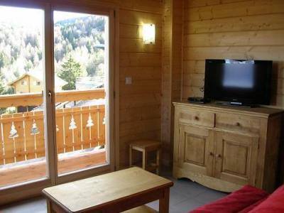 Location au ski Chalets Hameau Des Cimes - La Joue du Loup - Séjour