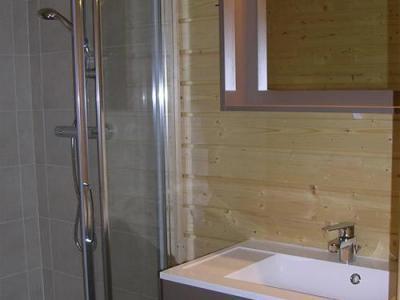 Location au ski Chalets Hameau Des Cimes - La Joue du Loup - Salle d'eau