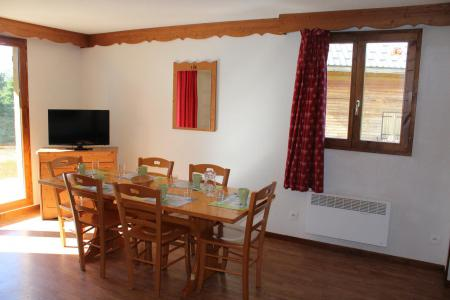 Rent in ski resort Semi-detached 4 room chalet 8 people (N1) - Chalets la Crête du Berger - La Joue du Loup