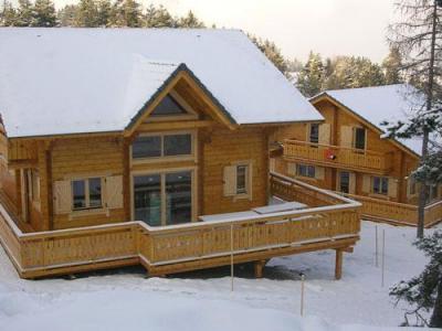 Location au ski Chalet 7 pièces 14 personnes - Les Chalets de l'Eden - La Joue du Loup - Extérieur hiver