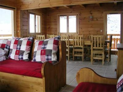 Location au ski Chalet 7 pièces 14 personnes - Les Chalets De L'eden - La Joue du Loup - Banquette-lit