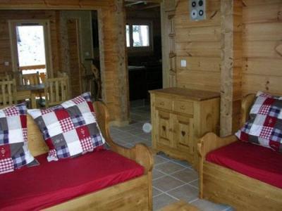 Location au ski Chalet 7 pièces 14 personnes - Les Chalets De L'eden - La Joue du Loup - Canapé