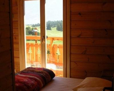 Location au ski Chalet 7 pièces 14 personnes - Les Chalets de l'Eden - La Joue du Loup - Fenêtre