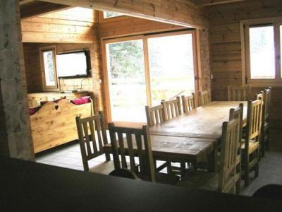 Location au ski Chalet 7 pièces 14 personnes - Les Chalets de l'Eden - La Joue du Loup - Séjour