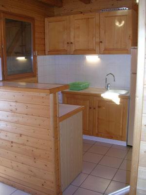Location au ski Chalet 6 pièces 12 personnes - Les Chalets Du Prayau - La Joue du Loup - Cuisine