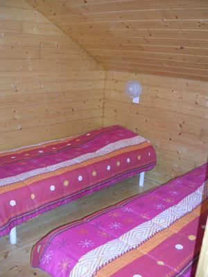 Location au ski Chalet 6 pièces 12 personnes - Les Chalets Du Prayau - La Joue du Loup - Lit simple