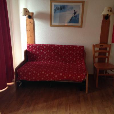 Rent in ski resort 2 room apartment 4 people (303) - Résidence Bartavelle la Crête du Berger - La Joue du Loup - Bed-settee