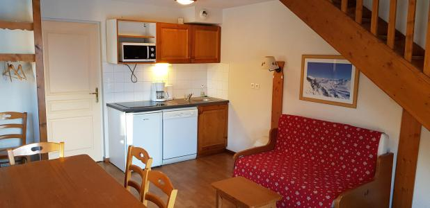 Аренда на лыжном курорте Общий шале 3 комнат 8 чел. (B1) - Résidence Crête du Berger - La Joue du Loup