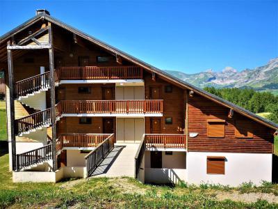 Аренда на лыжном курорте Квартира студия кабина для 4 чел. (702) - Résidence Crête du Berger - La Joue du Loup