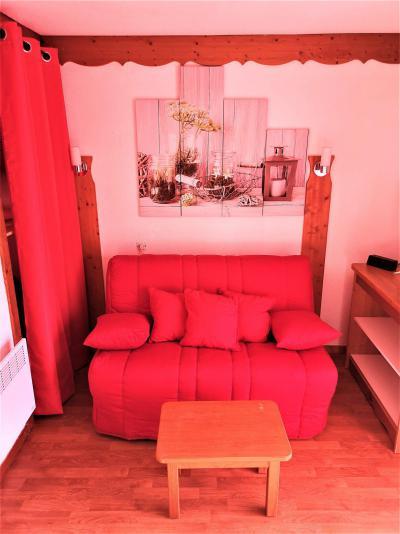 Аренда на лыжном курорте Квартира студия со спальней для 4 чел. (402) - Résidence Crête du Berger - La Joue du Loup - Салон