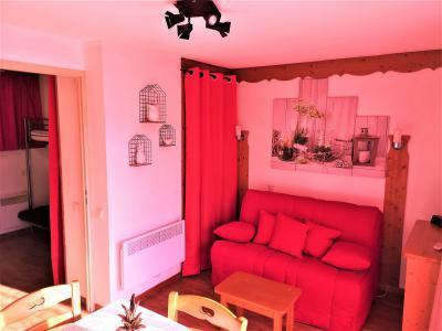 Аренда на лыжном курорте Квартира студия со спальней для 4 чел. (402) - Résidence Crête du Berger - La Joue du Loup - Диван