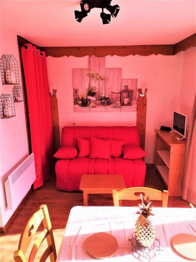 Аренда на лыжном курорте Квартира студия со спальней для 4 чел. (402) - Résidence Crête du Berger - La Joue du Loup - Стол