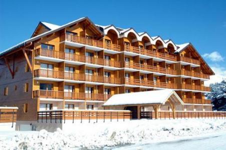 Location La Joue du Loup : Residence Horizon Blanc hiver