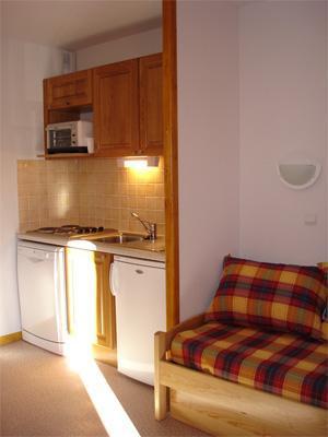 Location au ski Appartement 2 pièces 4 personnes - Residence Horizon Blanc - La Joue du Loup - Kitchenette