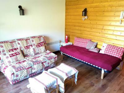 Rent in ski resort Studio cabin 4 people (23) - Résidence L'Eden des Cimes - La Joue du Loup