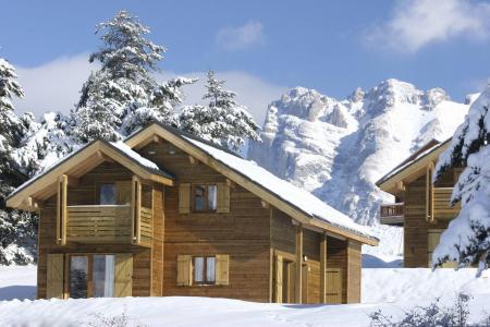 Location au ski Résidence la Crête du Berger - La Joue du Loup - Extérieur hiver