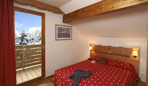 Location au ski Appartement 2 pièces coin montagne 6 personnes (BBT) - Residence La Crete Du Berger - La Joue du Loup - Chambre
