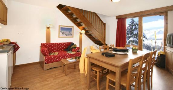 Location au ski Chalet semi-individuel 12 personnes (DDT) - Residence La Crete Du Berger - La Joue du Loup - Séjour