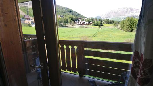 Rent in ski resort 2 room apartment sleeping corner 6 people (821) - Résidence la Marmotte la Crête du Berger - La Joue du Loup - Balcony