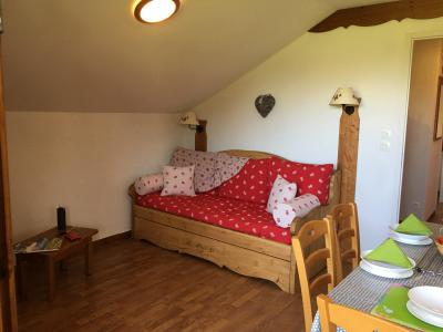 Rent in ski resort 2 room apartment sleeping corner 6 people (821) - Résidence la Marmotte la Crête du Berger - La Joue du Loup - Bed-settee
