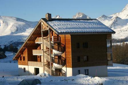 Rent in ski resort 2 room apartment sleeping corner 6 people (432) - Résidence le Chevreuil la Crête du Berger - La Joue du Loup