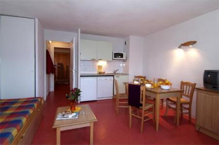 Location au ski Appartement 2 pièces cabine 5-6 personnes - Residence Les Chalets D'aurouze - La Joue du Loup - Séjour