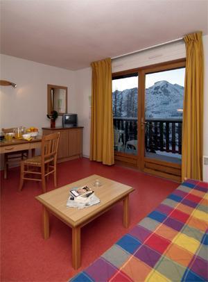Location au ski Appartement 3 pièces 7-8 personnes - Residence Les Chalets D'aurouze - La Joue du Loup - Séjour
