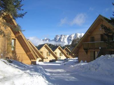 Location La Joue du Loup : Residence Les Flocons Du Soleil hiver
