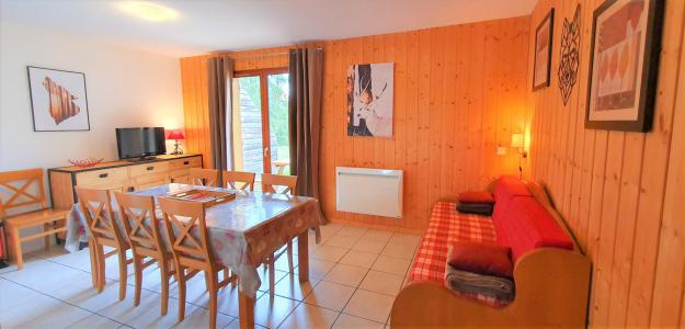 Rent in ski resort Semi-detached 3 room chalet 7 people (38 n'est plus commercialisé) - Résidence Les Flocons du Soleil - La Joue du Loup