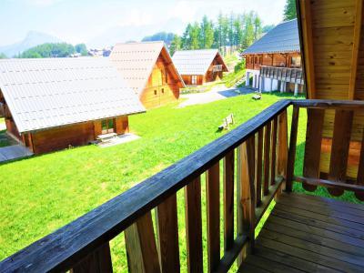 Rent in ski resort Semi-detached 3 room chalet 7 people (56) - Résidence Les Flocons du Soleil - La Joue du Loup