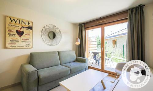 Аренда на лыжном курорте Апартаменты 2 комнат 4 чел. (Sélection 35m²) - Résidence les Mélèzes - Maeva Home - La Joue du Loup - Диван