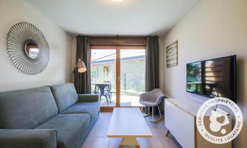 Аренда на лыжном курорте Апартаменты 2 комнат 4 чел. (Sélection 35m²) - Résidence les Mélèzes - Maeva Home - La Joue du Loup - Салон