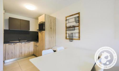 Аренда на лыжном курорте Апартаменты 2 комнат 4 чел. (Sélection 35m²) - Résidence les Mélèzes - Maeva Home - La Joue du Loup - Столова&