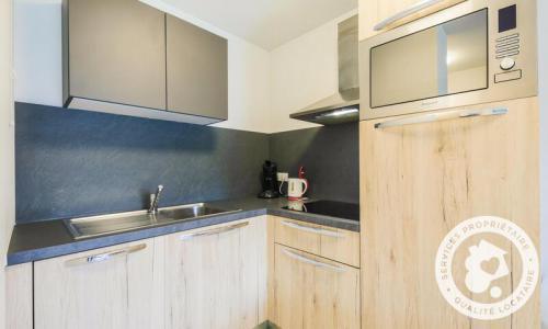 Аренда на лыжном курорте Апартаменты 2 комнат 4 чел. (Sélection 35m²) - Résidence les Mélèzes - Maeva Home - La Joue du Loup - Небольш&